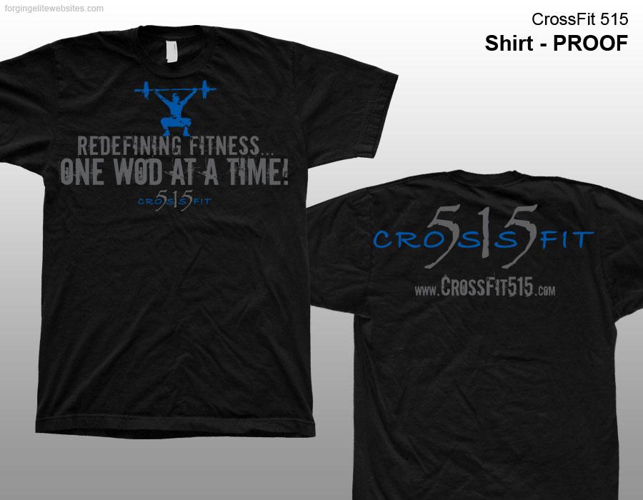 Crossfit Gym Shirts