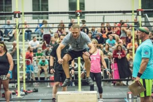 HOA Box Facing Burpee Jump Overs